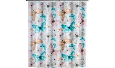 WENKO Duschvorhang »Butterfly«, Breite 180 cm, Höhe 200 cm kaufen