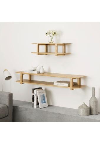 andas Wandregal »Edna«, Design by Morten Georgsen, mit 2 Ablageflächen, hochwertige... kaufen