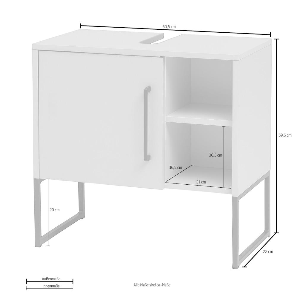 Schildmeyer Waschbeckenunterschrank »Limone«