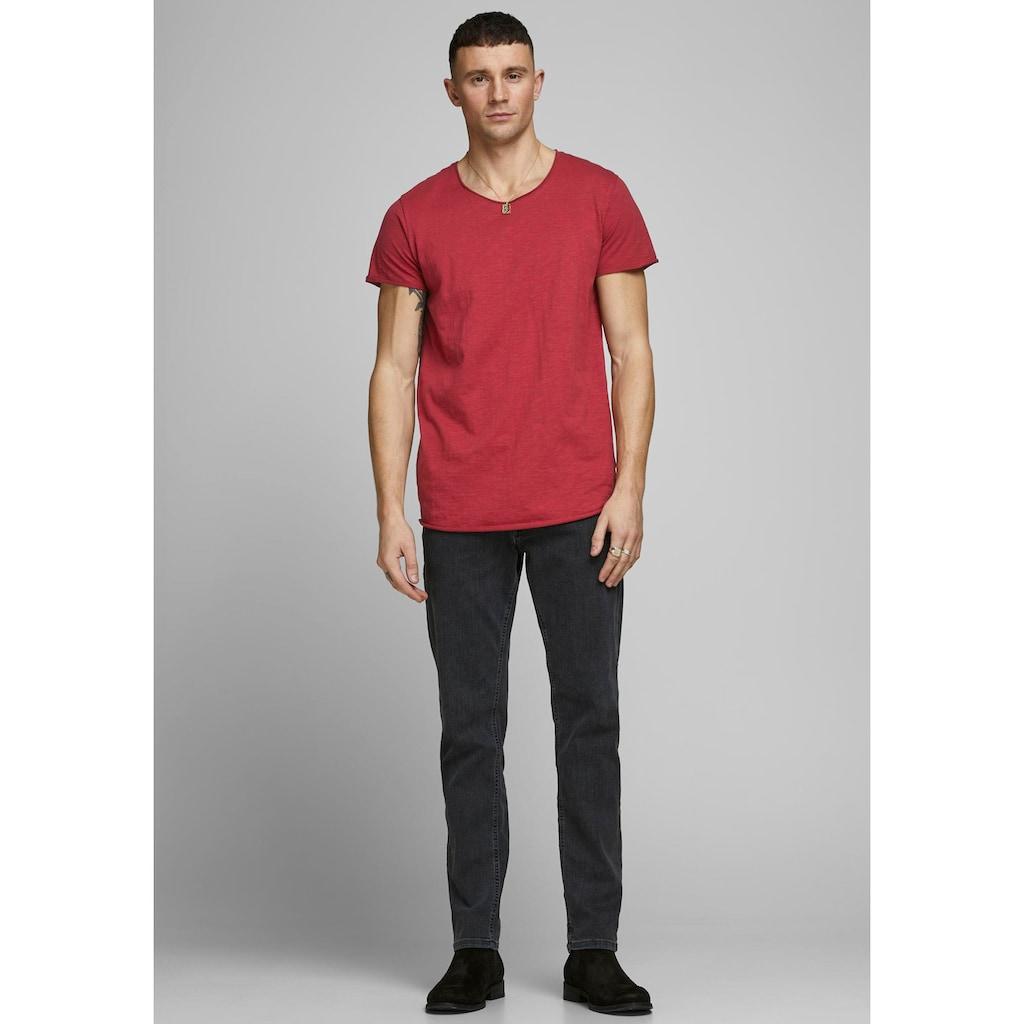 Jack & Jones T-Shirt »JJEBAS TEE U-NECK NOOS«