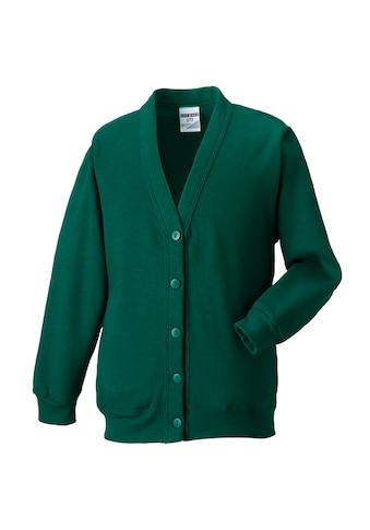 Russell Sweatjacke »Workwear Strickjacke / Sweatshirt-Jacke mit V-Ausschnitt« kaufen