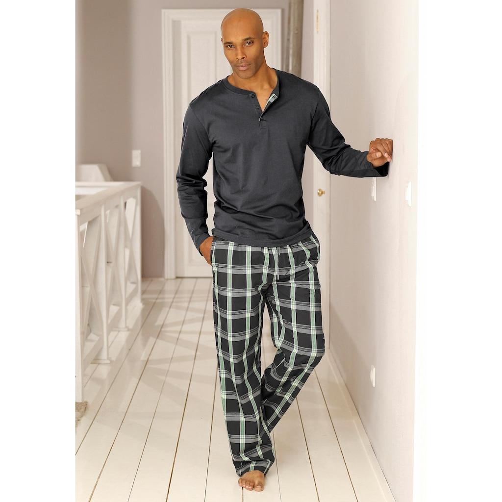 H.I.S Pyjama, in langer Form