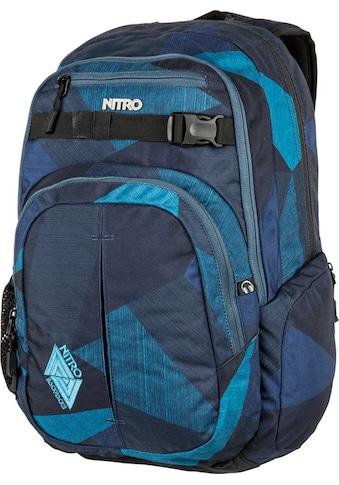 NITRO Schulrucksack »Chase, Fragments Blue« kaufen