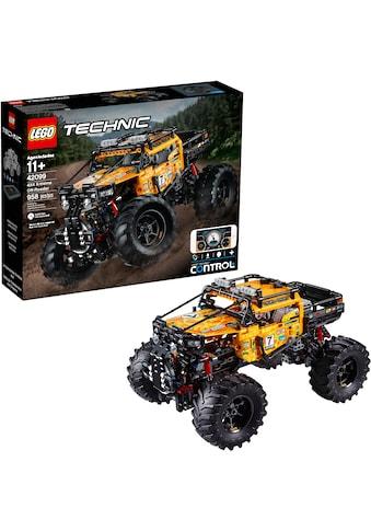 LEGO® Konstruktionsspielsteine »Allrad Xtreme-Geländewagen (42099), LEGO® Technic«,... kaufen