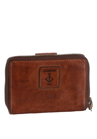 HARBOUR 2nd Geldbörse »Isidora«, Aus griffigem Leder mit typischen Marken-Anker-Label kaufen