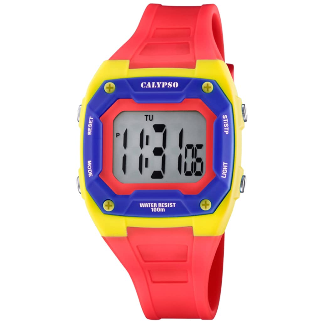 CALYPSO WATCHES Digitaluhr »Color Splash, K5813/3«