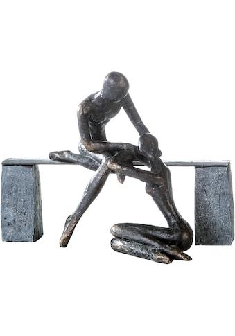 Casablanca by Gilde Dekofigur »Skulptur Freundschaft«, Dekoobjekt, Höhe 22 cm, mit... kaufen