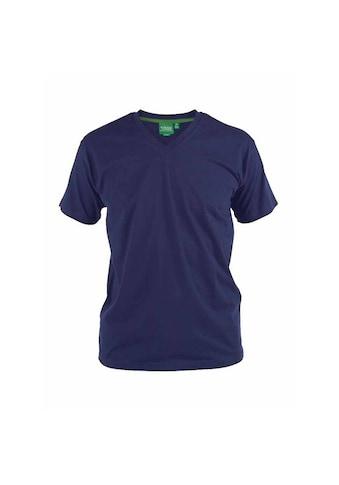 Duke Clothing T-Shirt »Herren D555 Kingsize Signature-1 Baumwolle« kaufen