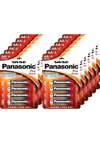 Panasonic Batterie »Batterie Alkaline, Mignon, AA, LR06, 1.5V, Pro Power, Retail... kaufen