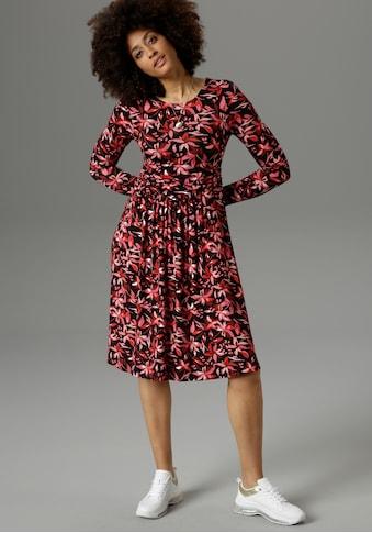 Aniston SELECTED Jerseykleid, mit harmonischem Blumendruck - NEUE KOLLEKTION kaufen