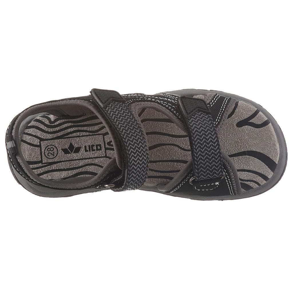Lico Sandale »Paul«, mit auffälligen Ziernähten
