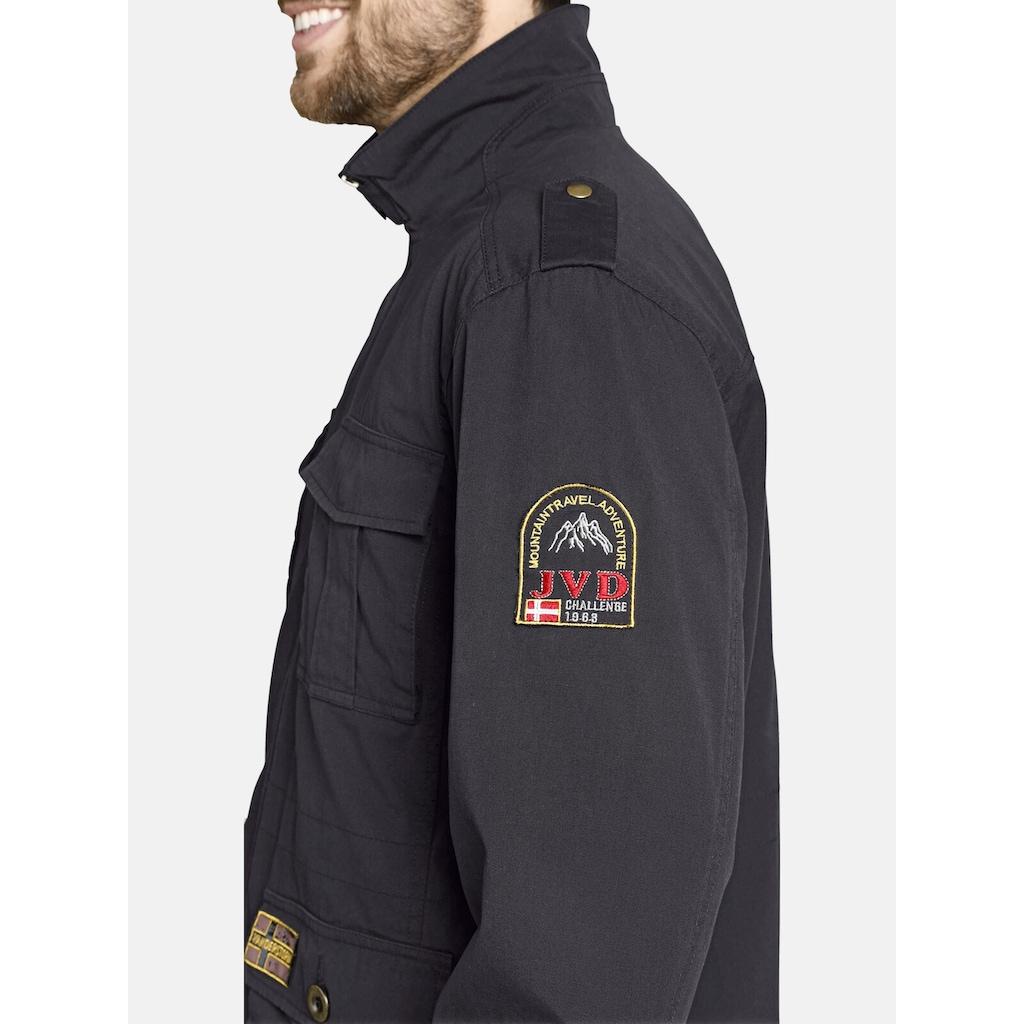 Jan Vanderstorm Fieldjacket »BROR«, sportliche Übergangsjacke
