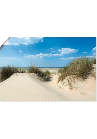 Artland Wandbild »Düne mit Meeresblick«, Strand, (1 St.), in vielen Grössen &... kaufen