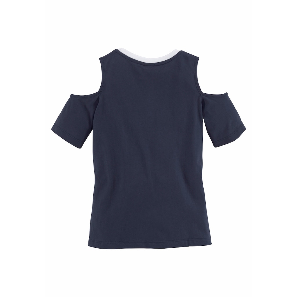 Arizona T-Shirt, mit coolen Cut-Outs