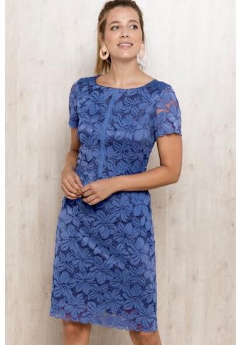 """bianca Spitzenkleid »DIVANA«, im leicht figurbetonten Schnitt in """"french blue"""" kaufen"""