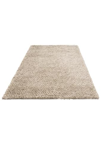Leonique Hochflor-Teppich »Rasgulla«, rechteckig, 50 mm Höhe, Kugelteppich, Wohnzimmer kaufen