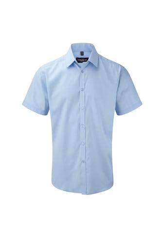 Russell Kurzarmhemd »Herren Hemd mit dezentem Fischgrätenmuster, kurzärmlig« kaufen