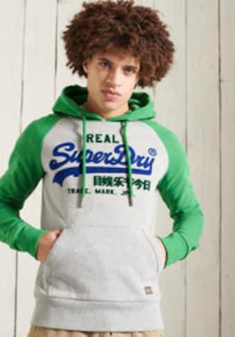 Superdry Kapuzensweatshirt »VL DUO RAGLAN HOOD« kaufen