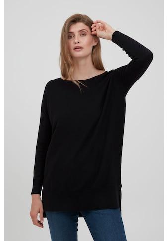 fransa Strickpullover »FRBEMELANGE 2 Pullover 20609486«, Schicker Feinstrick Pullover kaufen