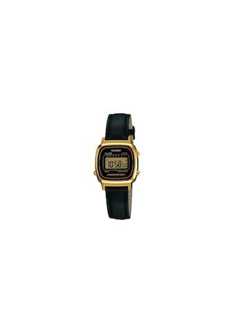 Armbanduhr, Casio, »LA670WEGL - 1EF« kaufen