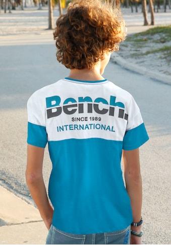 Bench. T-Shirt »mit Rückendruck« kaufen