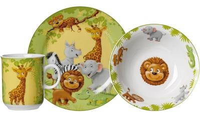Ritzenhoff & Breker Kindergeschirr-Set »Dschungeltiere«, (Set, 3 tlg.) kaufen
