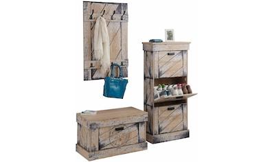 Home affaire Garderoben-Set »Niko«, (Set, 3 St.) kaufen