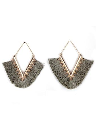 J.Jayz Paar Ohrhänger »im geometrischen Rauten-Design« kaufen