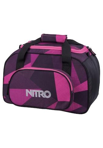 NITRO Sporttasche »Duffle Bag XS, Fragments purple« kaufen