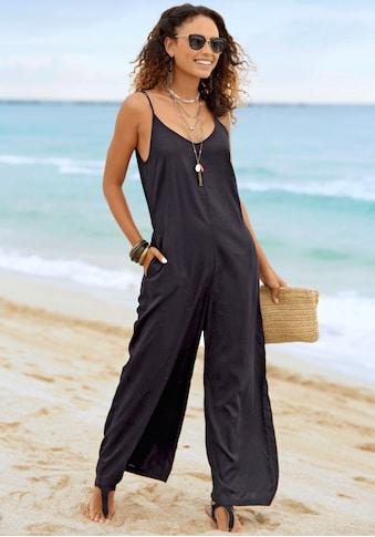 s.Oliver Beachwear Overall, in lässig weiter Form kaufen