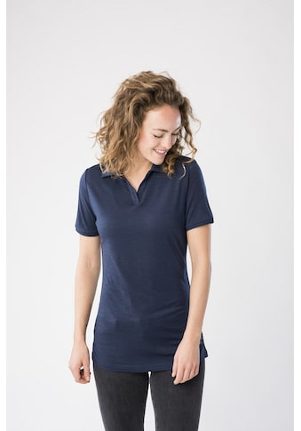 SUPER.NATURAL Poloshirt »W POLO«, feinster Merino-Materialmix kaufen