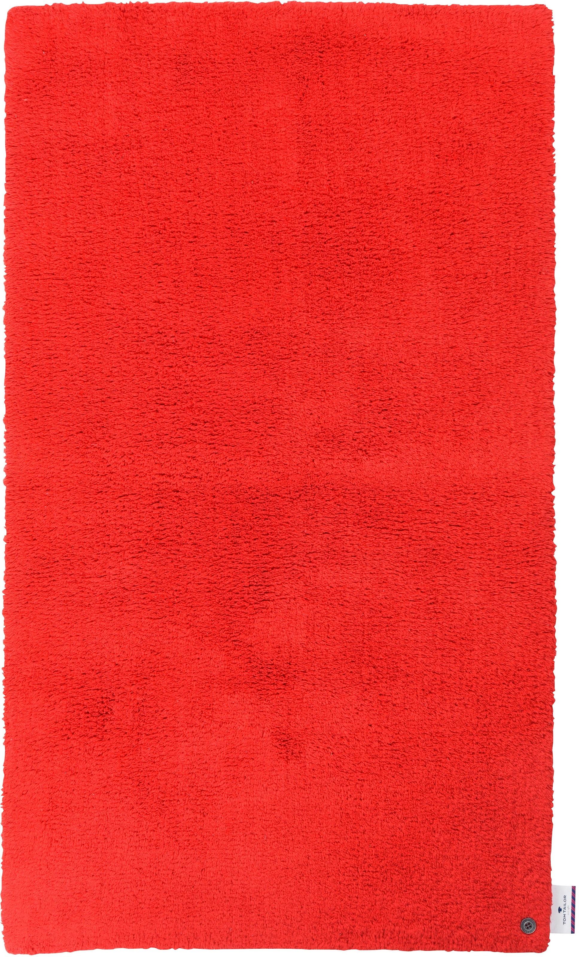 Image of Badematte »Cotton Double Uni«, TOM TAILOR, Höhe 20 mm