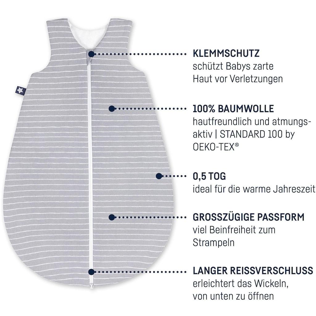 Julius Zöllner Babyschlafsack »Grey Stripes«, (1 tlg.)