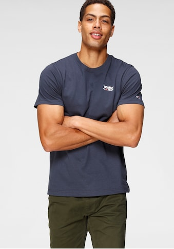 Tommy Jeans T-Shirt »TJM REGULAR CORP LOGO C NECK« kaufen