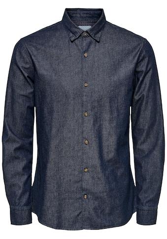 ONLY & SONS Langarmhemd »SASK LS CHAMBRAY SHIRT« kaufen