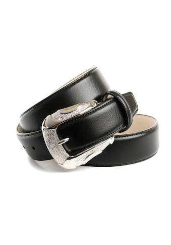 Anthoni Crown Ledergürtel, mit trendiger Schliesse kaufen