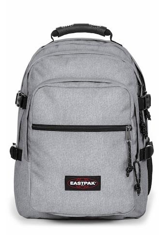 Eastpak Laptoprucksack »WALF, Sunday Grey«, enthält recyceltes Material (Global... kaufen