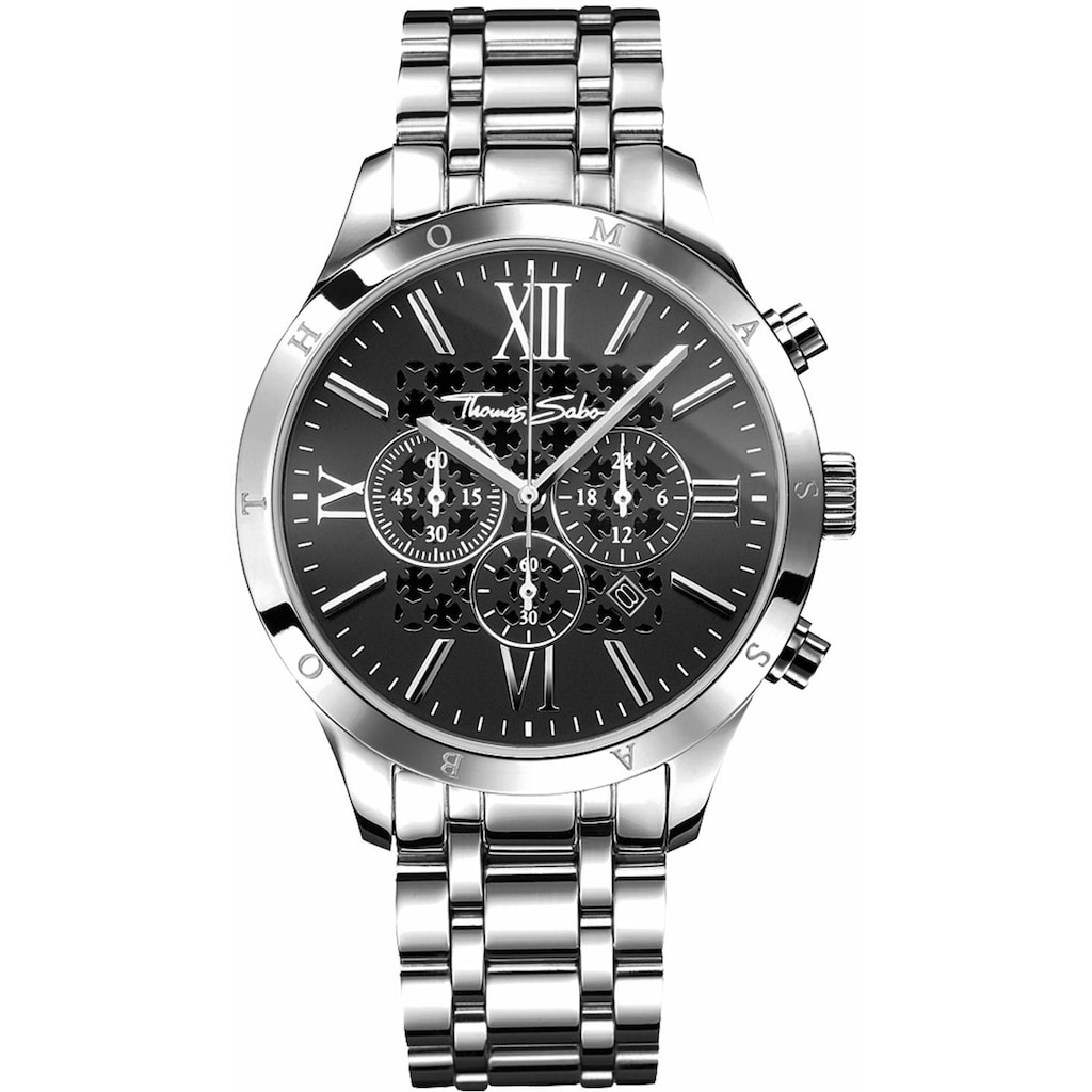 THOMAS SABO Chronograph »REBEL URBAN, WA0015-201-203«