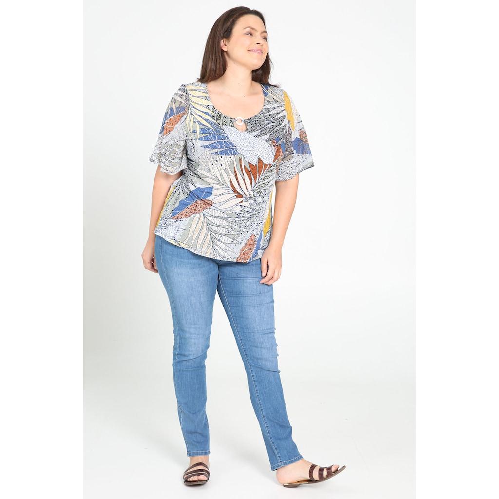 Paprika Print-Shirt »Kurze Ärmel«, casual