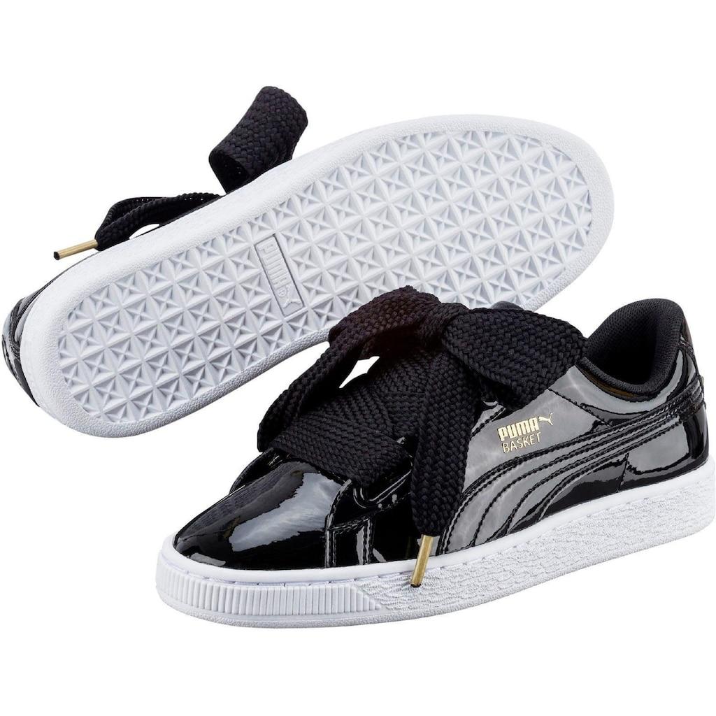 PUMA Sneaker »Basket Heart Patent«