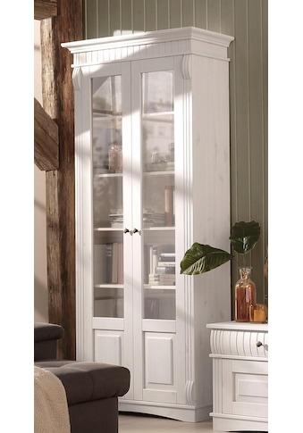 Home affaire Glasvitrine »Teresa«, mit 2 Glastüren, Höhe 193 cm kaufen