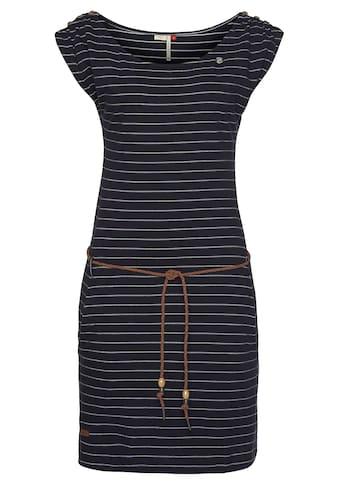 Ragwear Shirtkleid »CHEGO«, (2 tlg., mit Bindegürtel), im maritimen Streifen-Design kaufen