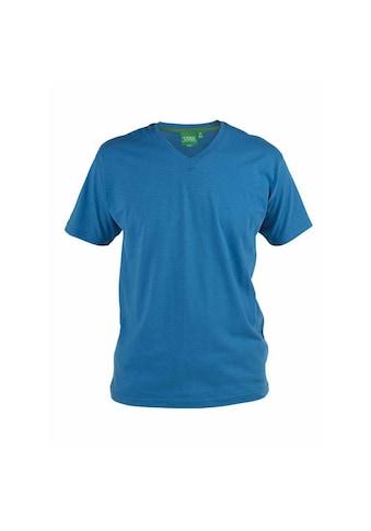 Duke Clothing T-Shirt »Herren Signature 2 mit V-Ausschnitt, King Size, Baumwolle« kaufen