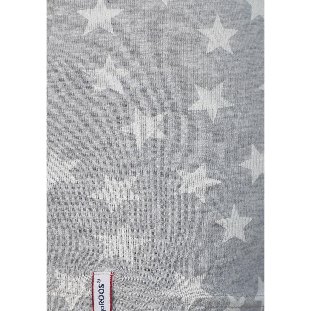 KangaROOS T-Shirt, mit Sternen bedruckt