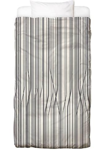 Juniqe Bettwäsche »Birch«, In vielen weiteren Designs erhältlich kaufen