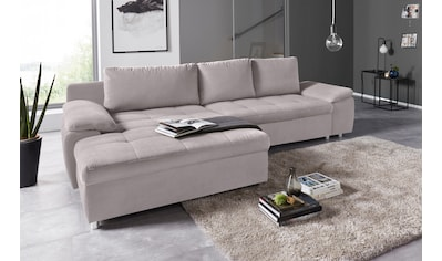 sit&more Ecksofa, XL oder XXL, wahlweise mit Bettfunktion, Bettkasten und Federkern kaufen