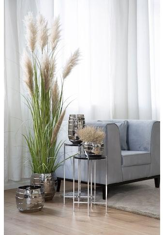 Fink Übertopf »Cocon, silberfarben«, (1 St.), Blumenübertopf, Blumentopf, Höhe 30 cm,... kaufen