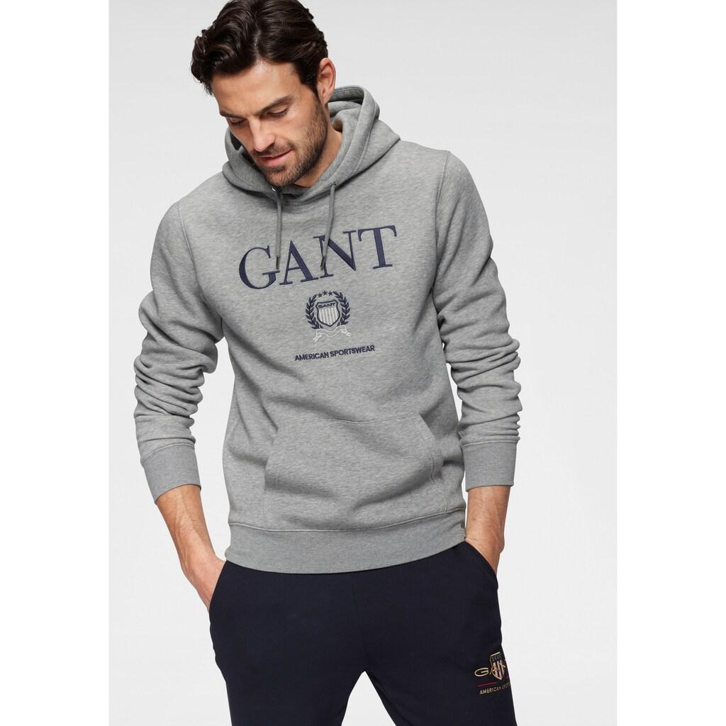 Gant Hoodie »D2. CREST SWEAT HOODIE«