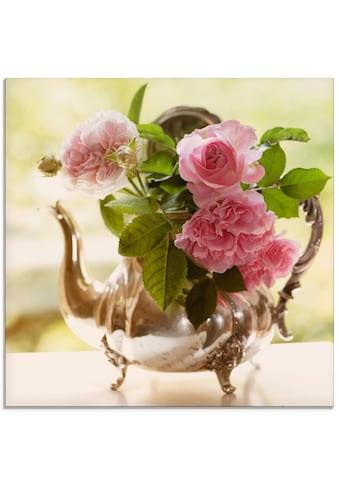 Artland Glasbild »Rosen Romance«, Blumen, (1 St.) kaufen