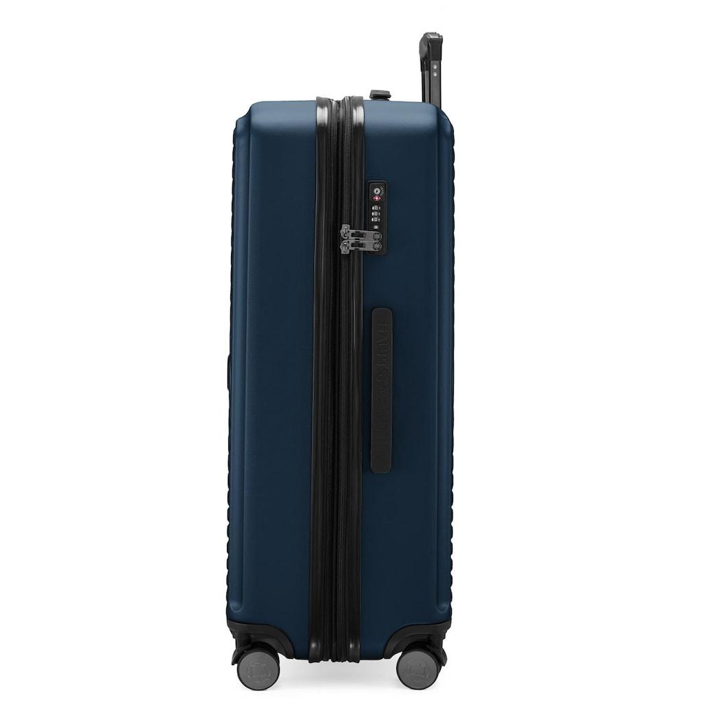 Hauptstadtkoffer Hartschalen-Trolley »Mitte, dunkelblau, 77 cm«, 4 Rollen